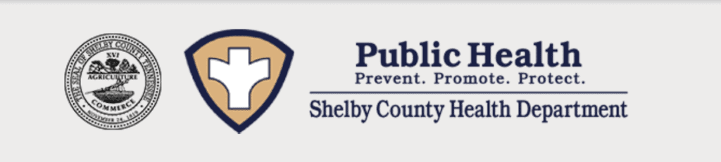Logo for the Shelby County Health Department