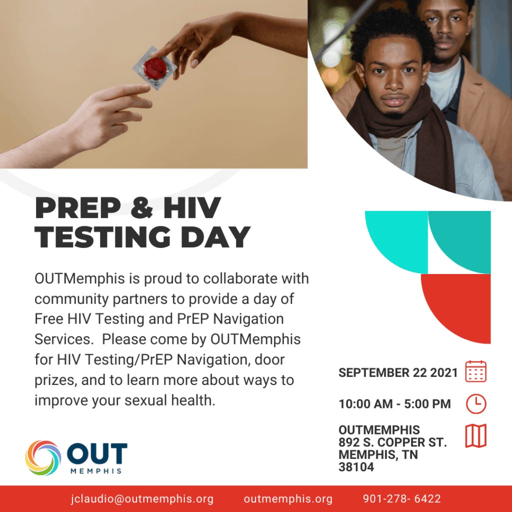 OUTMemphis Hosts Free HIV Testing, PrEP Services Day 1