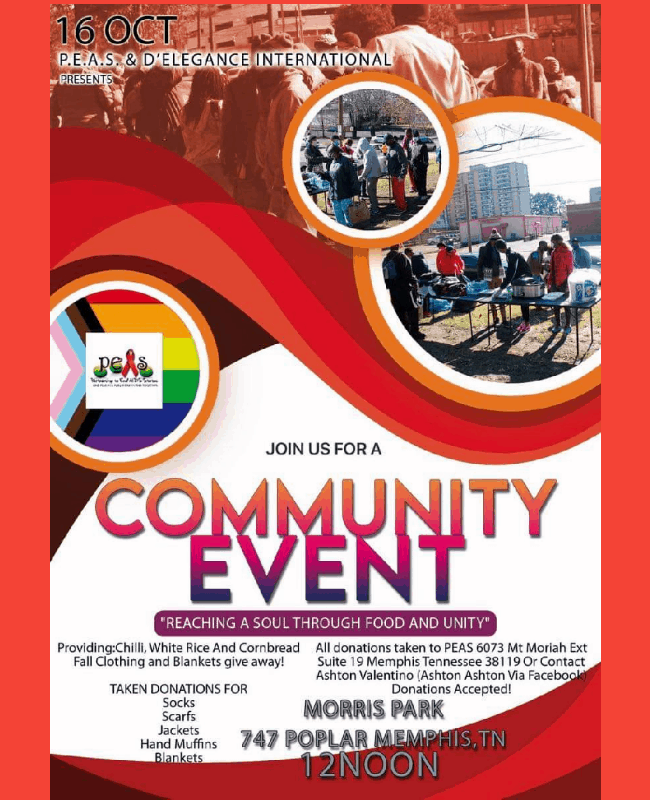 PEAS, Inc. and D'Elegance International to Host Fall Community Event 1