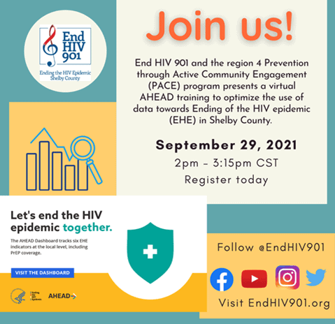 End HIV 901 Presents AHEAD Training with PACE Program 1